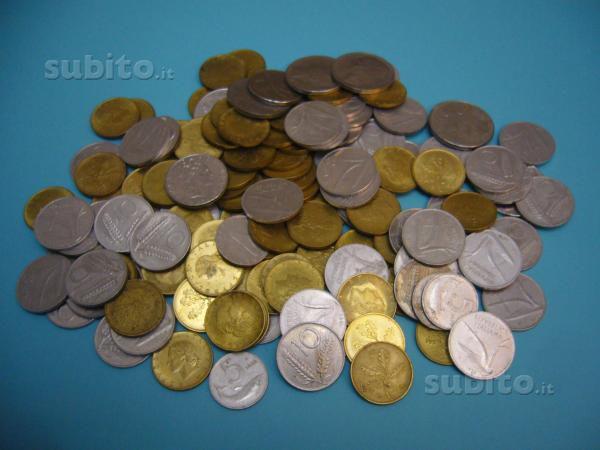 Monete della vecchia lira