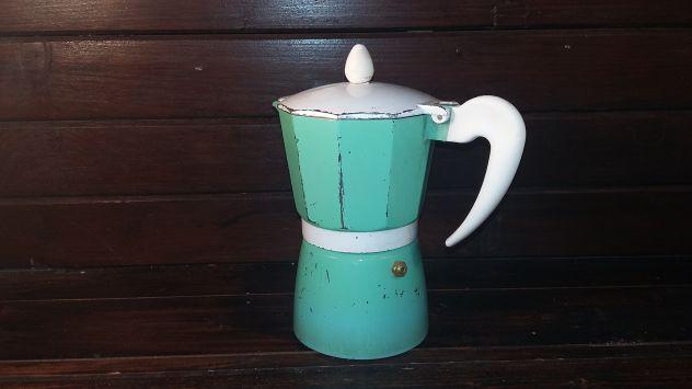 V483 riuso caffettiera verde 6tz