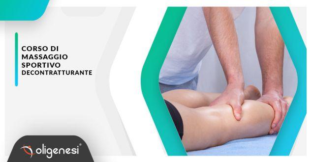 Corso di Massaggio Sportivo Decontratturante a Grosseto