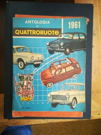 ANTOLOGIA DI QUATTRORUOTE Anno 1961