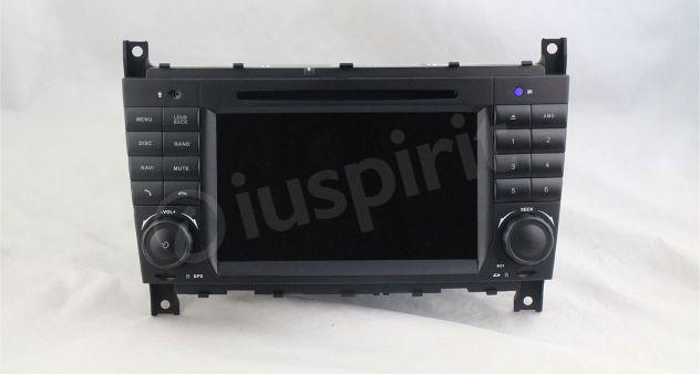Autoradio 2DIN navigatore Mercedes W203 W209 W203 W407 W467 C200 C220 - Foto 7