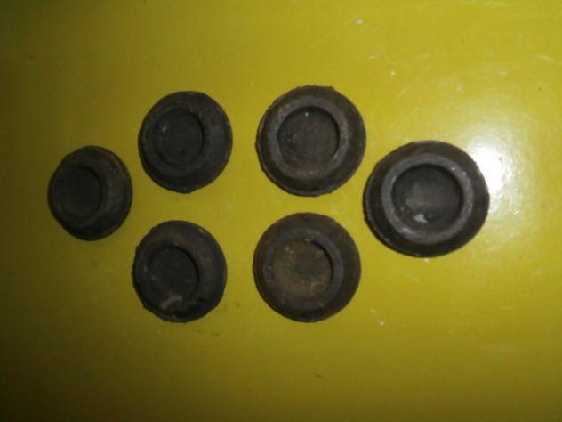 Gommini cofano posteriore Fiat 500 126 850 127 128 1100  misura 43x30mm - Foto 3