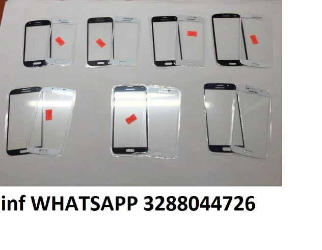 Vetro samsung s3 s4 s5 s6 note 2 3neo 4 iphone 3 4 Nuovo Euro 5