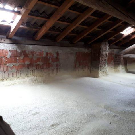 Isolamento termico sottotetto/solaio, pavimenti e pareti- spruzzo e insufflaggio - Foto 2