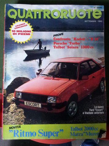 Riviste QuattroRuote 1980 - 81 - 82 - 83 - 84 - 86 - Foto 6