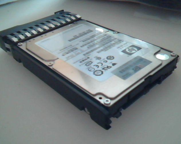 Hard-Disk Sas Hp Compaq 146Gb per Proliant.