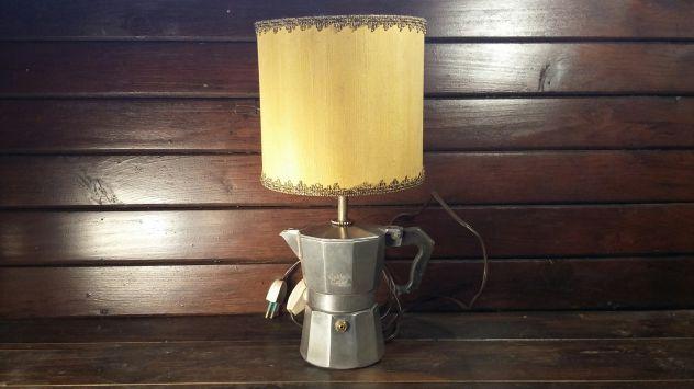 C82 alluminio vecchio lampada base caffettiera Caldo Caffe'
