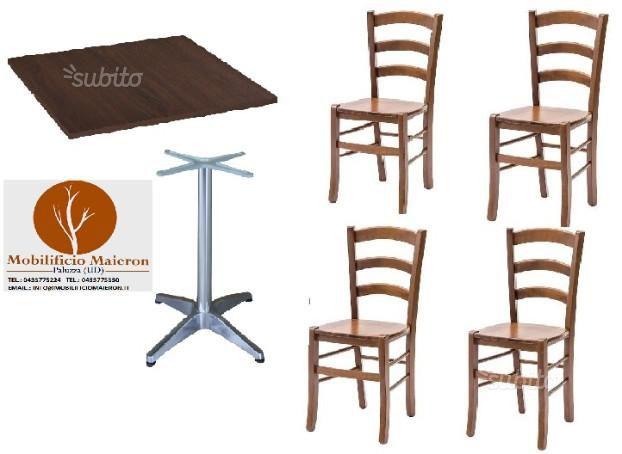 Set cod 154 Tavoli e sedie pub ristorante pizzeria prezzo fabbrica
