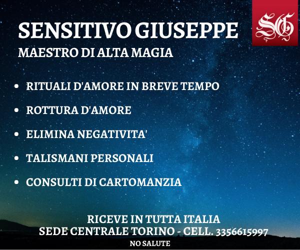 SENSITIVO GIUSEPPE FAMOSO MAESTRO DI ALTA MAGIA RICEVE A BIELLA - Foto 5