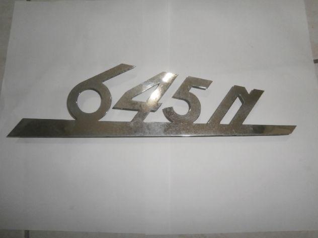 Scritta logo targhetta anteriore fiat 645N
