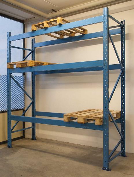Scaffali Industriali Portapallet.Scaffalatura Industriale Portapallet 12 Bancali
