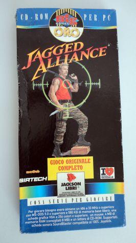 Jagged Alliance ITALIANO,PC (big games oro) vintage