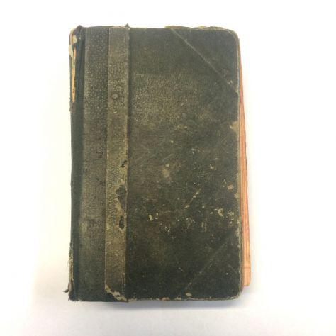 Antico libro religioso anno 1892