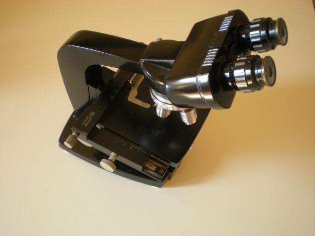 Microscopio professionale Officine Galileo anni '50