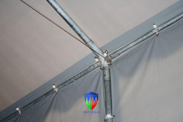 TENDONE TUNNEL PER DEPOSITO RIMESSAGGIO MAGAZZINO 8 X 24 Metri - Foto 5