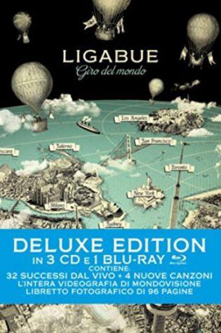 Ligabue Giro del Mondo Deluxe Edition 3CD+1BluRay