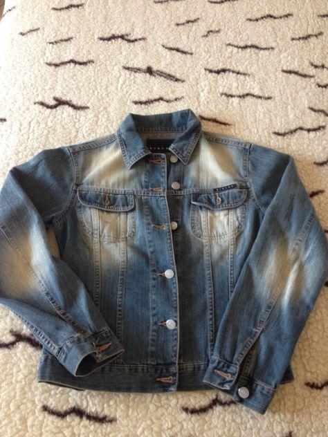 Giubbotto in jeans Sisley