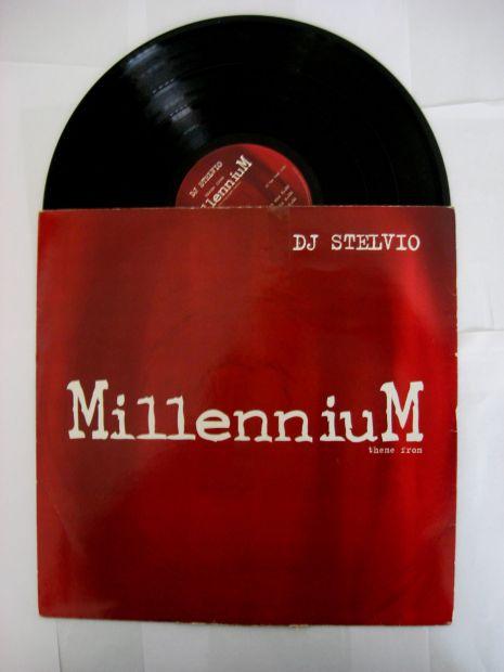33 giri originale del 1997- DJ Stelvio theme of MILLENNIUM