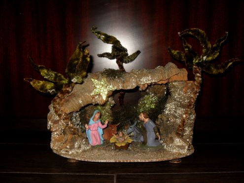 Vintage presepe del 1973 Made in Italy rarissimo