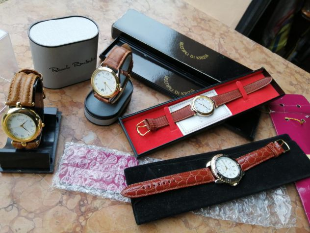 4 orologi da collezione vintage