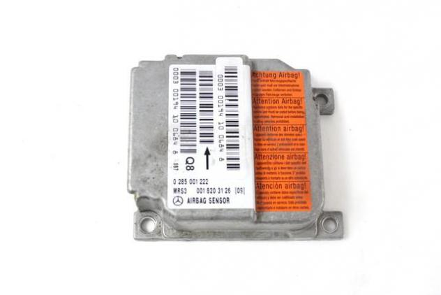 0018203126 CENTRALINA AIRBAG MERCEDES CLASSE A 170 W168 1.6 D 66KW 5M 5P (2 …