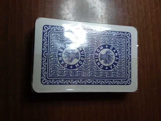 Mazzo di Carte 54 Modiano (misura leggermente più stretta)-  NUOVO - Sigillato