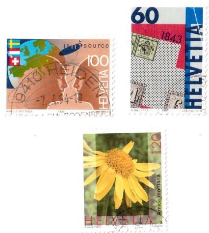 Francobolli da collezione Svizzera - Foto 6