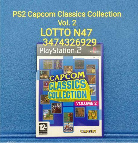 PS2 Capcom Classics Collection Vol 2
