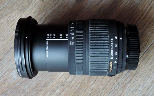 Obiettivo Sigma DC 17-70f2.8 attacco Nikon - Foto 3