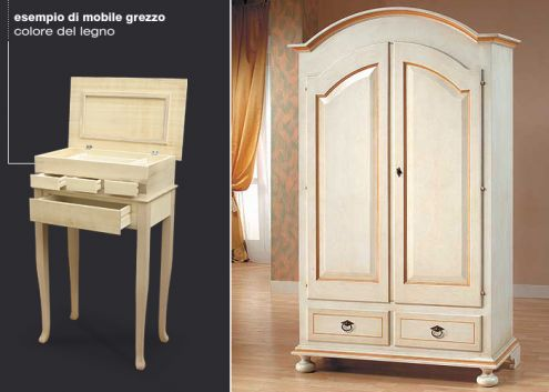Vendita mobili in arte povera rifiniti o grezzi annunci bari for Compro arredamento usato