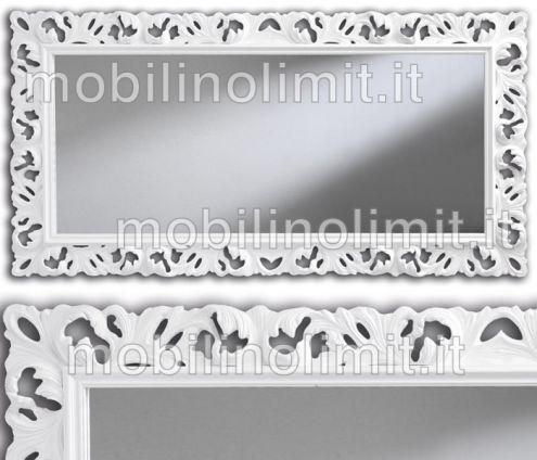 Specchiera bianca lucida - Nuovo