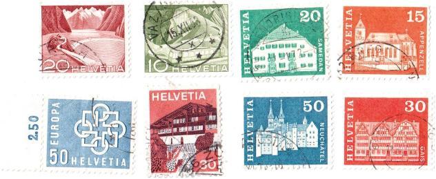 Francobolli da collezione Svizzera - Foto 2