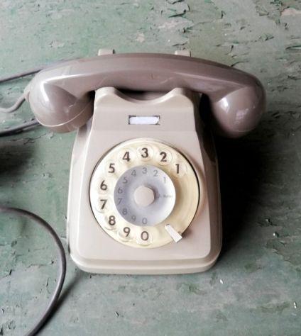 Telefono a disco SIP Italtel Grigio