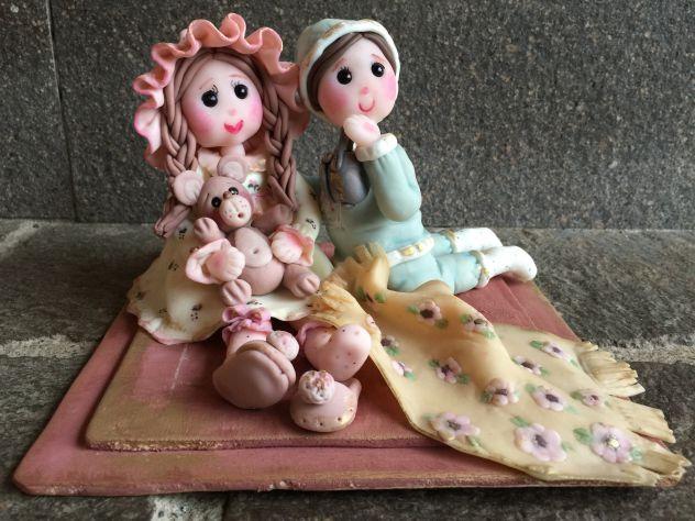 Bambola artigianale fatta a mano in pasta di mais