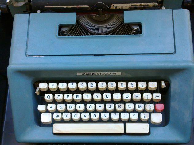 Macchina da Scrivere Modello Olivetti Studio 46