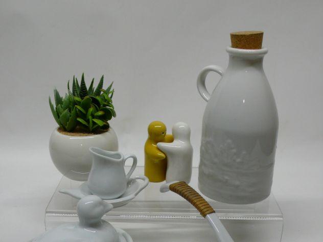 Collezione mini ceramiche bianche fashion white
