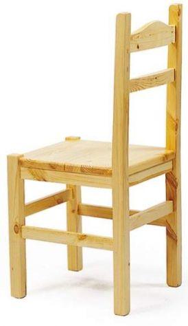 sedie in stile bavarese o tirolese in pino tinta naturale