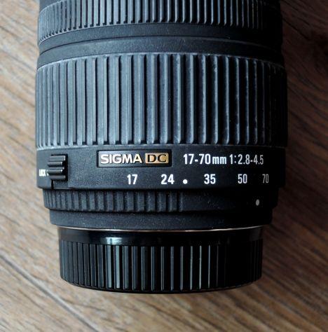 Obiettivo Sigma DC 17-70f2.8 attacco Nikon - Foto 4