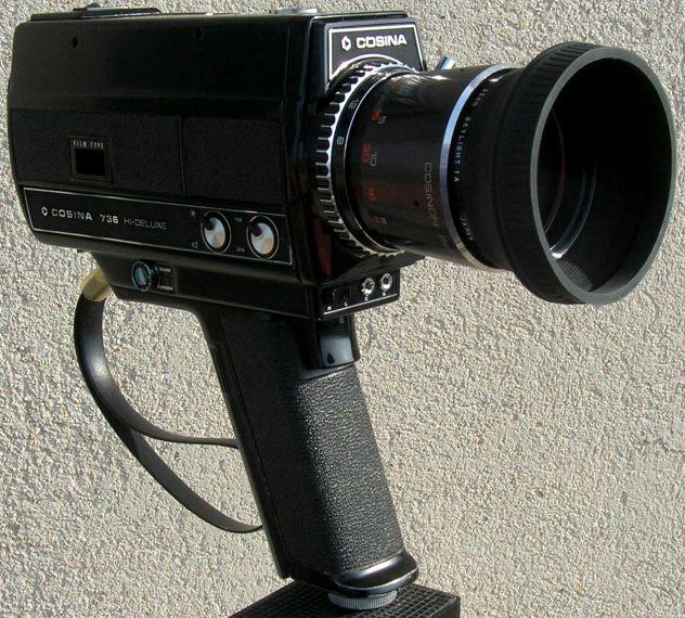 Videocamera COSINA 736 HI-Delux  silent super 8 cartridge made in Japan - Foto 3