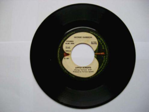 Vinile 45 giri del 1971-George Harrison-What is life - Foto 3
