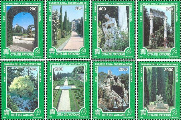 Francobolli nuovi annata 1995 Vaticano - Foto 6