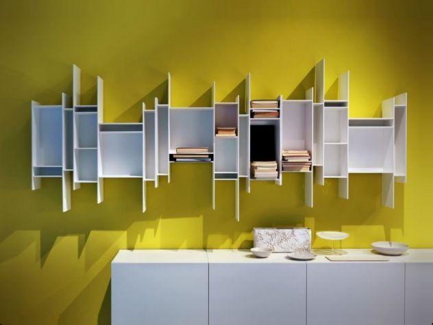 Librerie casa ufficio studio RANDOMITO design MDF ITALIA ...