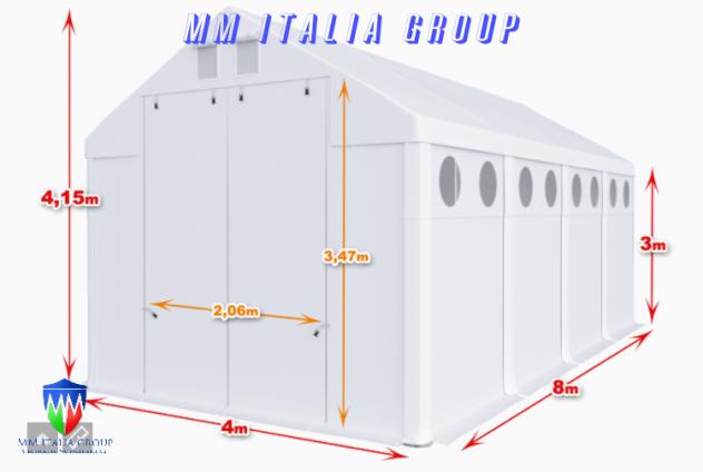 BOX CAMPER  4 X 8 ChiaraLuce CamperObló Professionali Pvc - Foto 3